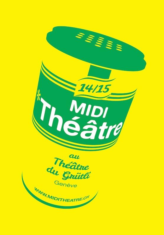 Röstigraben - Midi, Théâtre! Menu 5